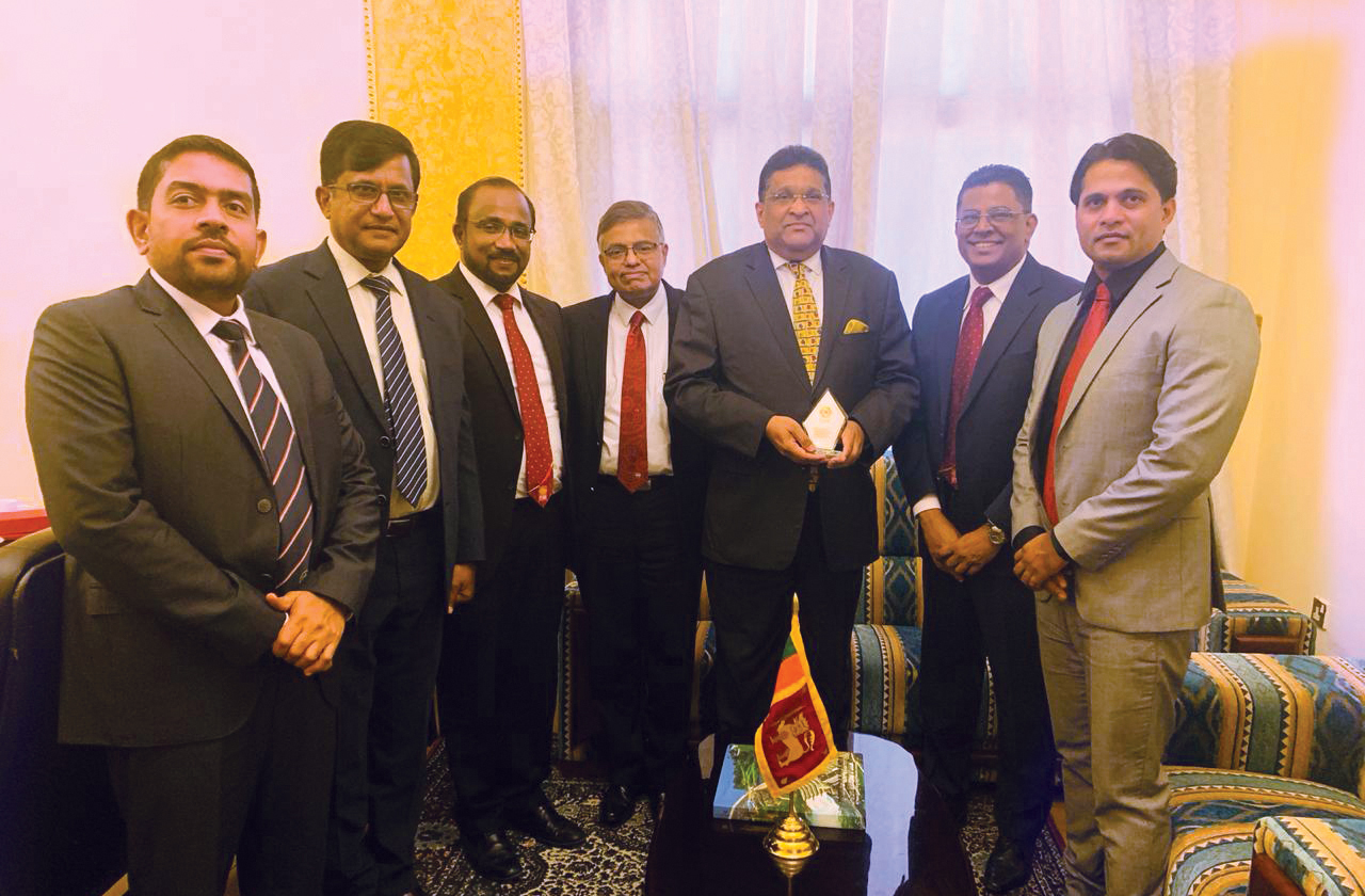 SLPA Welcomes the Newly Appointed Ambassador of Sri Lanka to the UAE