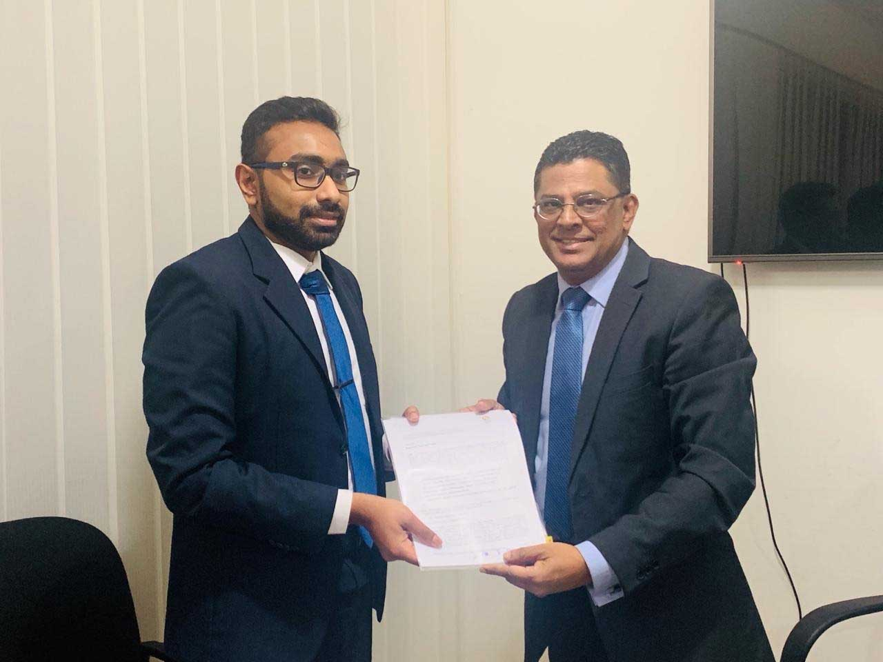 The Association of Quantity Surveyors of the University of Moratuwa (QSUM) joins SLPA UAE