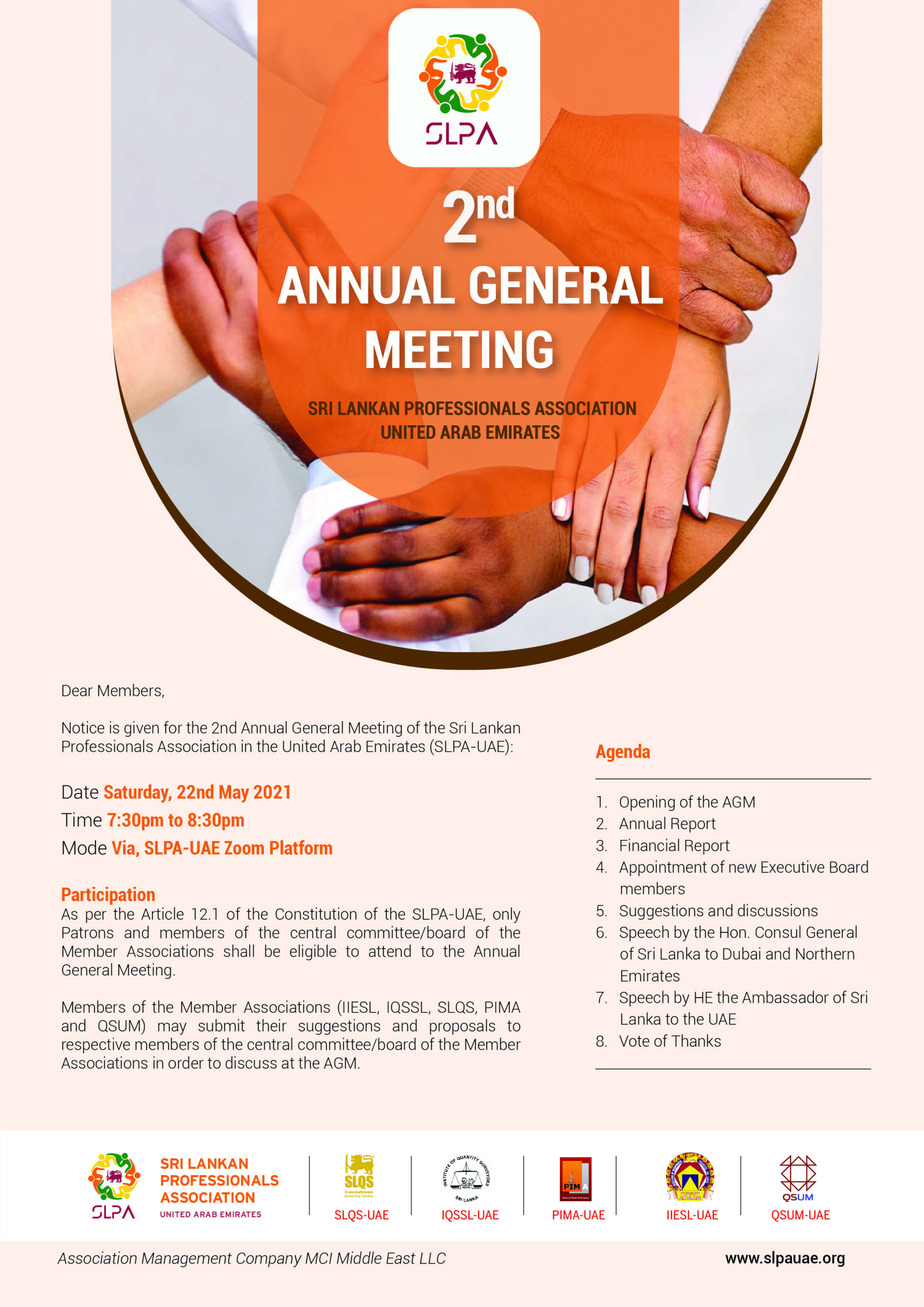 2nd Annual General Meeting
